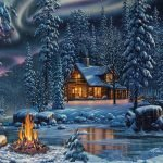 Aurora-Bliss-Paint-By-Numbers-For-Adults-Unframed
