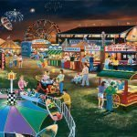 Evening-At-The-Country-Fair-Paint-By-Numbers-For-Adults-Unframed
