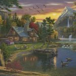 Mountain-Paradise-Paint-By-Numbers-For-Adults-Unframed