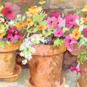 Sweet Petunias Paint By Numbers For Adults Unframed scaled 3