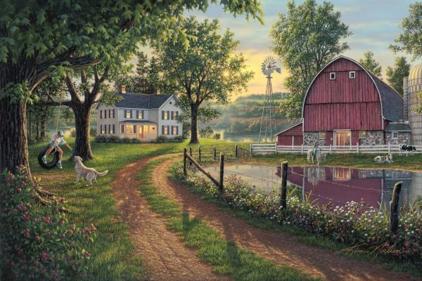 The Road Home Paint By Numbers For Adults Unframed scaled 1