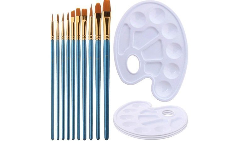 DIY Paint by Numbers for Adults - Inspiration - Elisel Painting Watercolor Hand-held Seven Hole