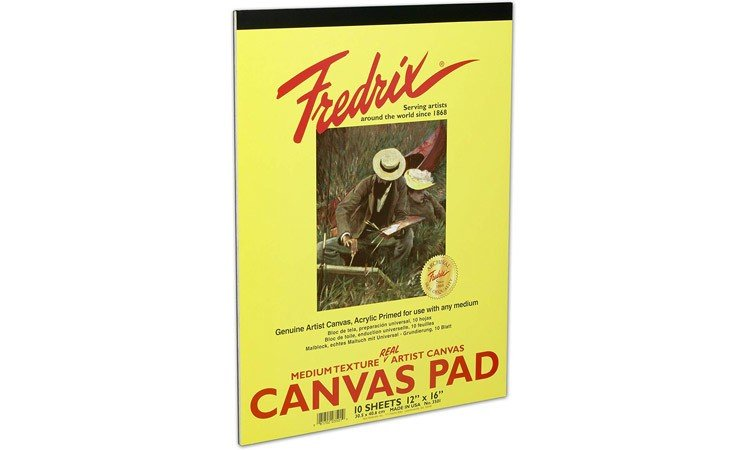 DIY Paint by Number for Adults - Inspiration - Fredrix 3501 Canvas Pads - 16 Inch