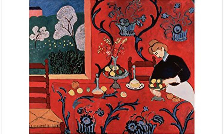 DIY Paint by Numbers for Adults - Inspiration - Henri Matisse - Harmony - Poster Impressionist
