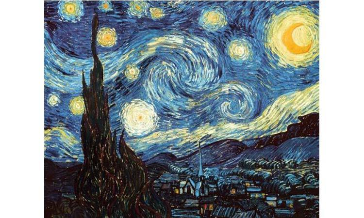 DIY Paint by Numbers for Adults - Inspiration - Starry Night - Vincent Van Gogh - Poster Print