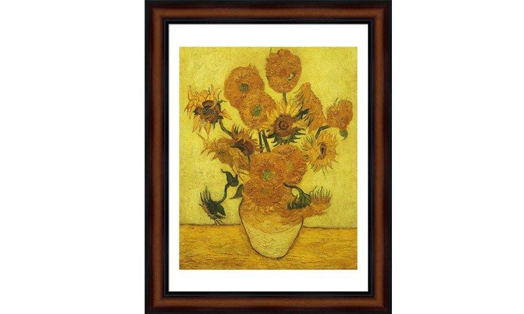 DIY Paint by Numbers for Adults - Inspiration - Sunflowers - Vincent Van Gogh - Art Print Inches