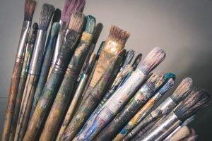 fine tip paintbrush
