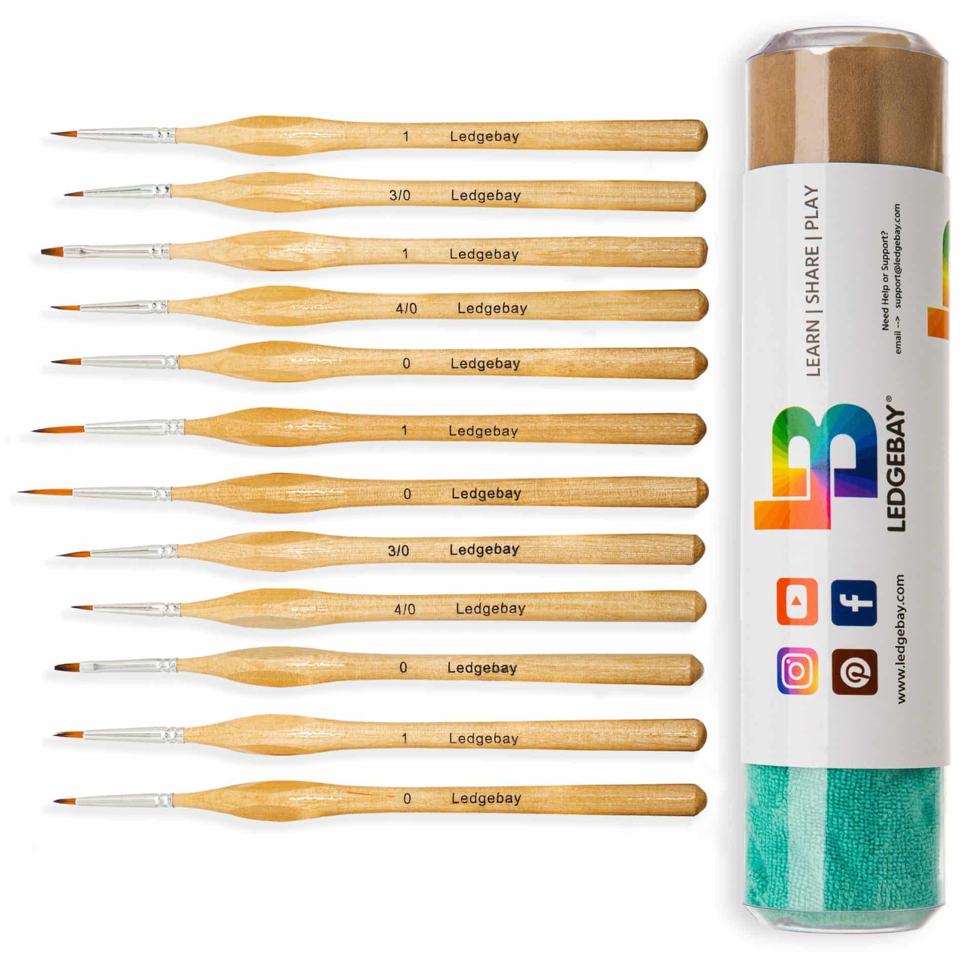 12pc-Miniature-Paint-Brush-Set