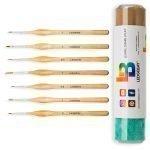 7pc-Miniature-Paint-Brush-Set