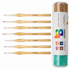 7pc-Miniature-Paint-Brush-Set