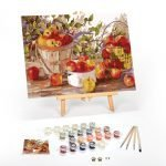 Apple-Harvest-Paint-By-Numbers-For-Adults-16-x-20-framed