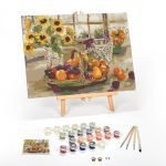 Country-Sunshine-Paint-By-Numbers-For-Adults-12-x-16-framed