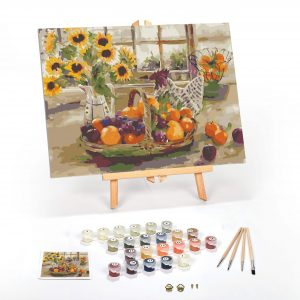 Country Sunshine Paint By Numbers For Adults 16 x 20 framed scaled