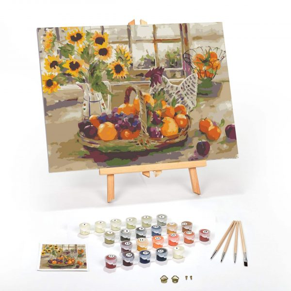 Country-Sunshine-Paint-By-Numbers-For-Adults-16-x-20-framed