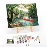 Day-To-Remember-Paint-By-Numbers-For-Adults-12-x-16-framed
