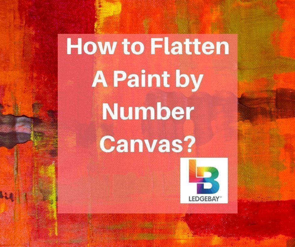 How-to-Flatten-A-Paint-by-Number-Canvas