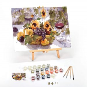 Summer Wine Paint By Numbers For Adults 12 x 16 framed scaled