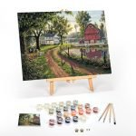 The-Road-Home-Paint-By-Numbers-For-Adults-16-x-20-framed