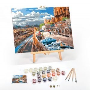 Vacation-In-The-USA-Paint-By-Numbers-For-Adults-12-x-16-framed