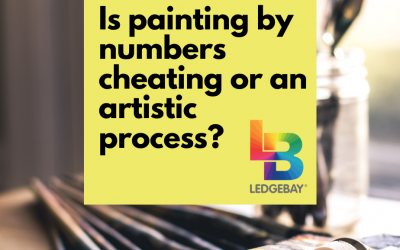 Is painting by numbers cheating or an artistic process?