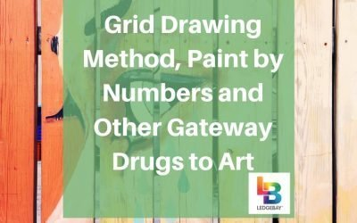 Grid Drawing Method, Paint by Numbers and Other Gateway Drugs to Art