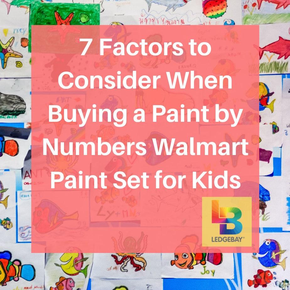 paint by numbers walmart paint set walmart 1
