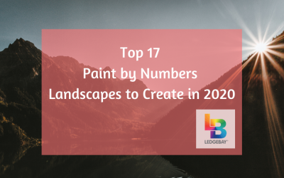 Top 17 Paint by Numbers Landscapes to Create in 2020