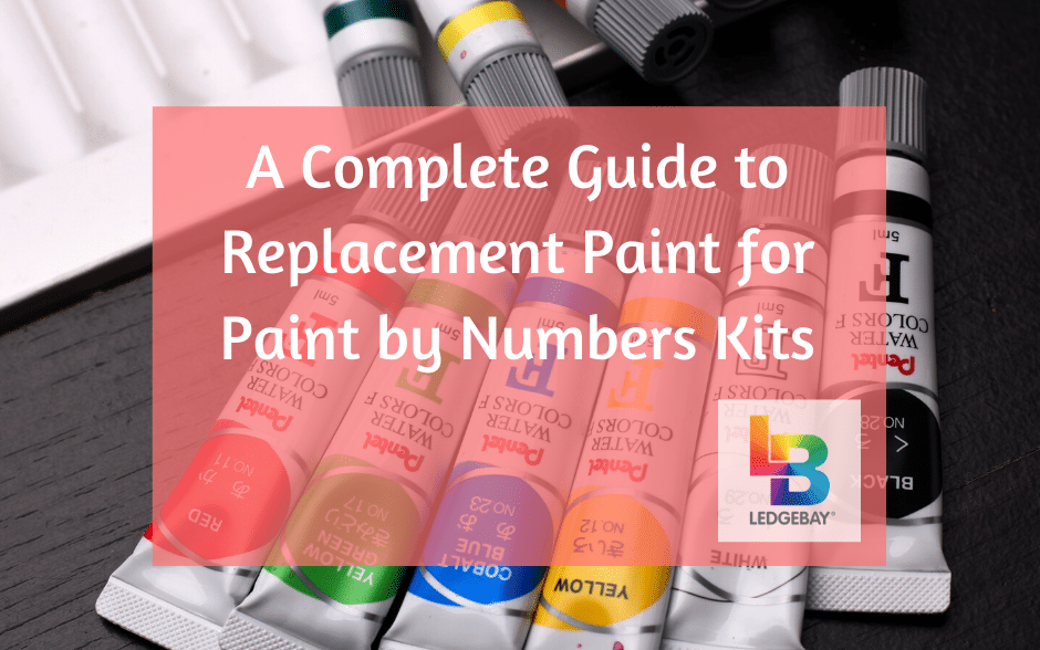 replacement paint for paint by numbers