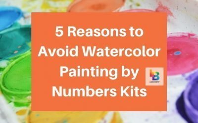 5 Reasons to Avoid Watercolor Painting by Numbers Kits
