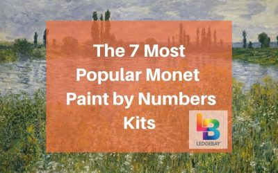 The 7 Most Popular Monet Masterpieces as Paint by Numbers Kits