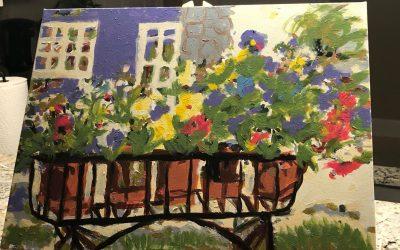 Ruth T – Rita's Pansies – Masterpiece