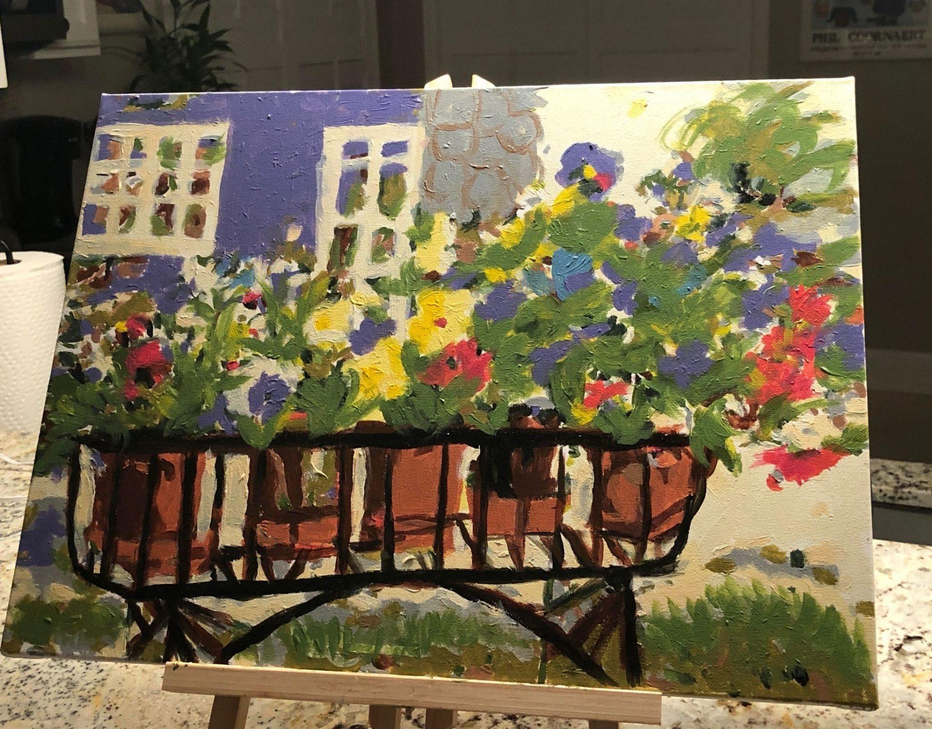 Ruth T - Rita's Pansies - Masterpiece