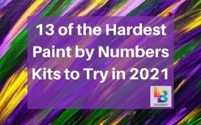 13 of the Hardest Paint by Numbers Kits For the Advanced to Try in 2021
