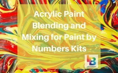Acrylic Paint Blending and Mixing for Paint by Numbers Kits