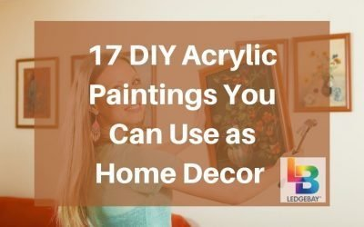 17 DIY Acrylic Paintings You Can Use as Home Decor