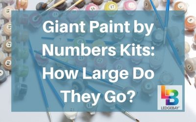 Giant Paint By Numbers Kits: How Large Do They Go?
