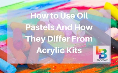 How To Use Oil Pastels And How They Differ From Acrylic Kits
