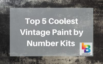 Top 5 Coolest Vintage Paint by Number Kits