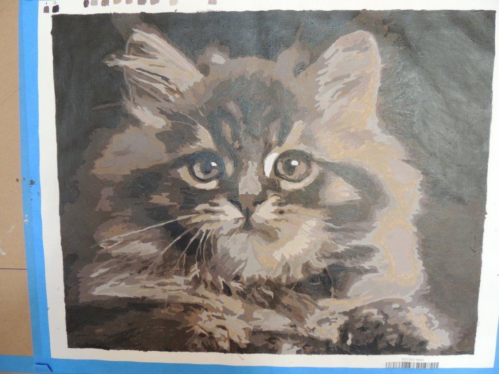 Anita N Cat Masterpiece