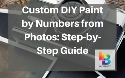 Custom DIY Paint by Numbers From Photos: Step by Step Guide