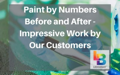 Paint by Numbers Before and After – Impressive Work by Our Customers