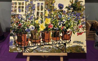 Rita's Pansies – Donna L – Masterpiece