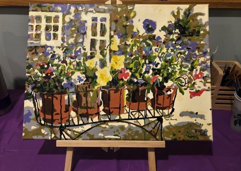 Ritas-Pansies-Donna L-Masterpiece