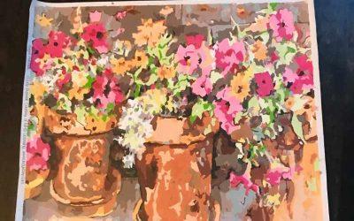 Sweet Petunias – Masterpiece – Sandi