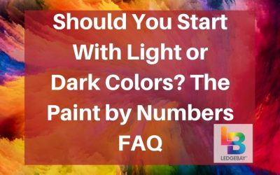 Should You Start with Light or Dark Colors? The Paint by Numbers FAQ