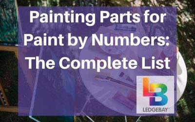 Painting Parts for Paint by Numbers: The Complete List