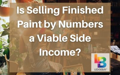 Is Selling Finished Paint by Numbers a Viable Side Income?