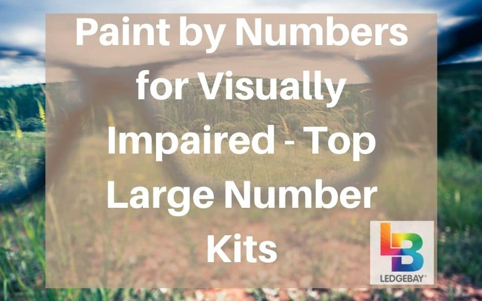 Paint by Numbers for Visually Impaired – Top Large Number Kits
