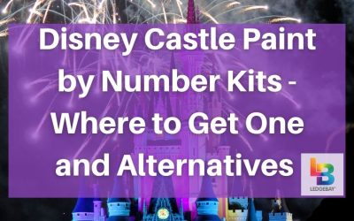 Disney Castle Paint by Number Kits – Where to Get One and Alternatives to Consider
