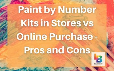 Paint by Number Kits in Stores vs Online Purchase – Pros and Cons